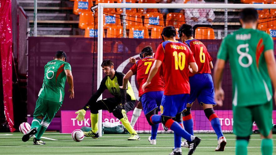 La selección de Fútbol 5 para ciegos se queda sin opción de medalla