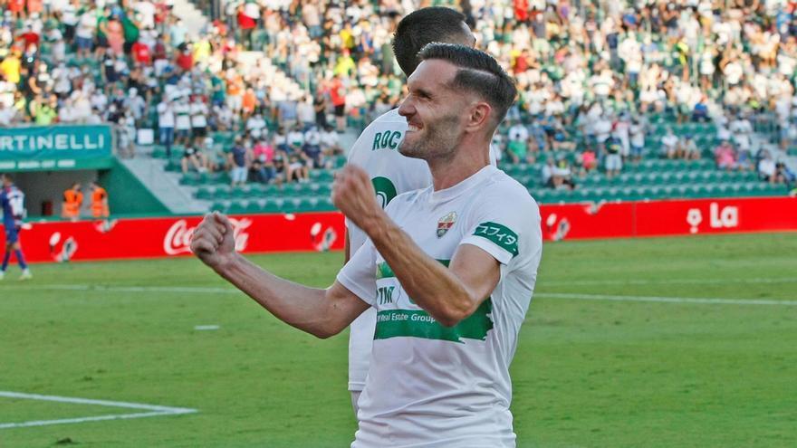 Lucas Pérez pone el gol en el Elche