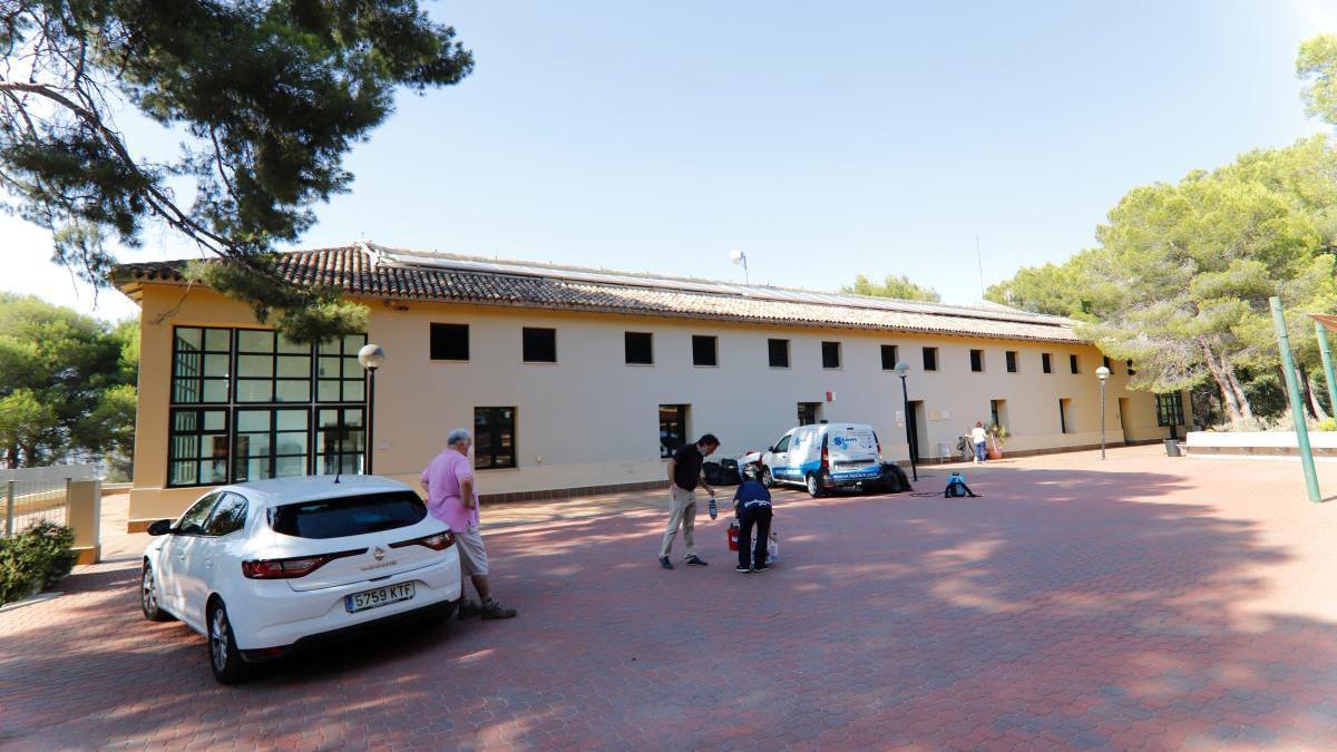 El albergue del Valle acogerá a los inmigrantes en cuarentena