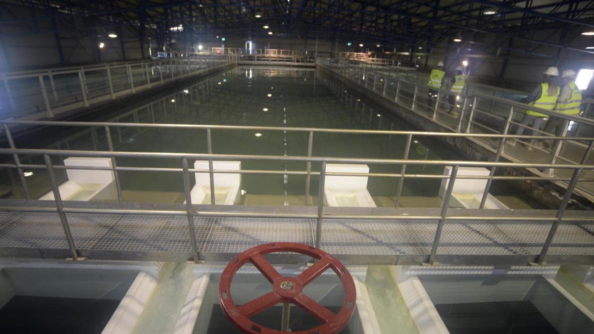 Estación de Tratamiento de Agua Potable (ETAP) de La Contraparada.