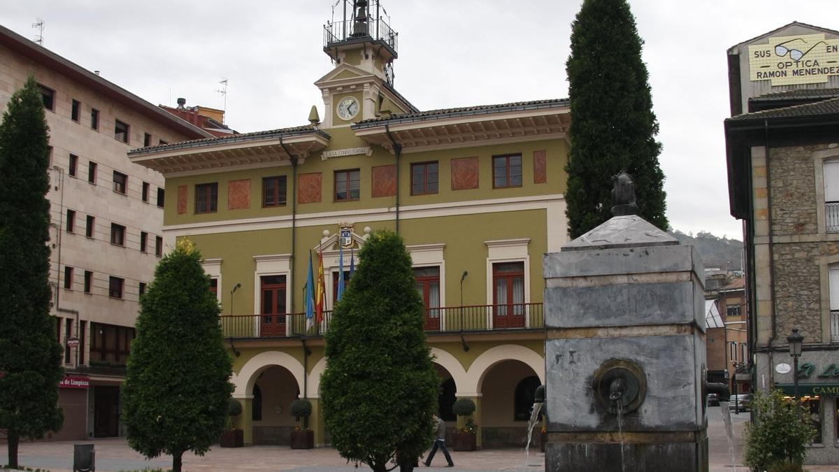 El Ayuntamiento de Langreo.