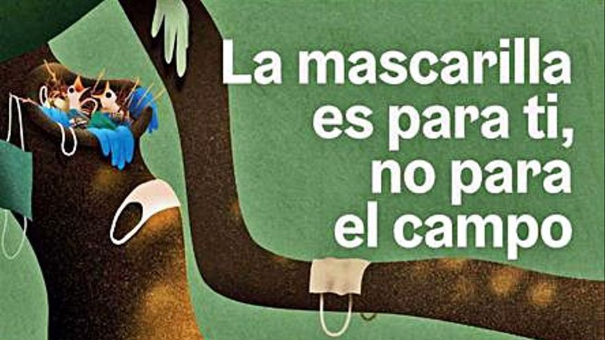 """El Ayuntamiento llama a la """"adecuada"""" gestión para desechar la mascarilla"""