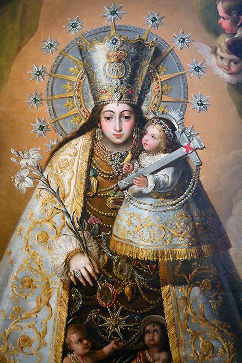 La inveterada tradición de sacar la Virgen a la calle en las grandes calamidades