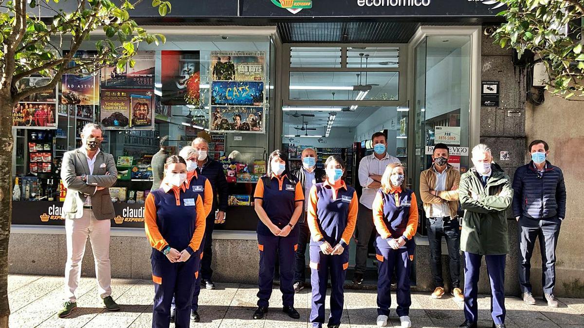 Gadis abre un nuevo Claudio Express en la calle Portela  | FDV