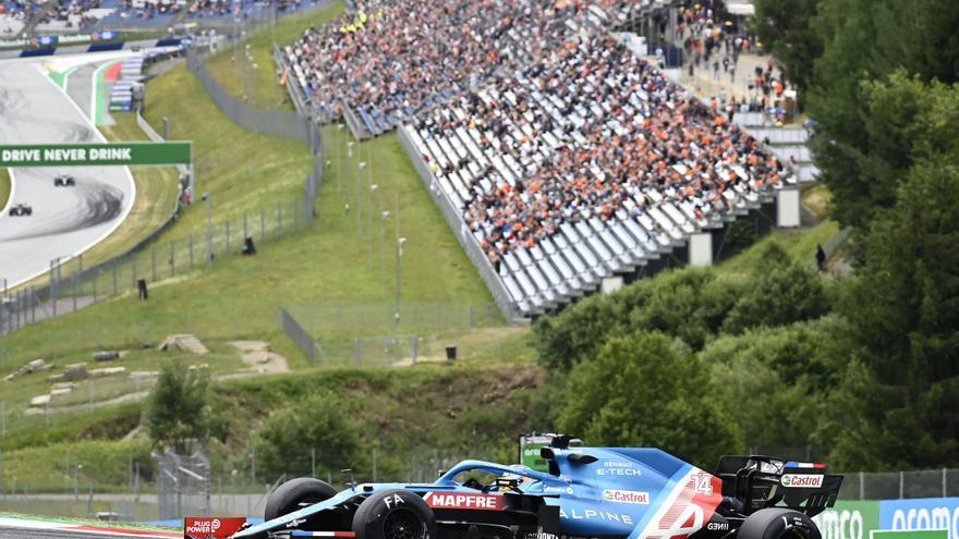 Resultados de los entrenamientos libres del GP de Austria