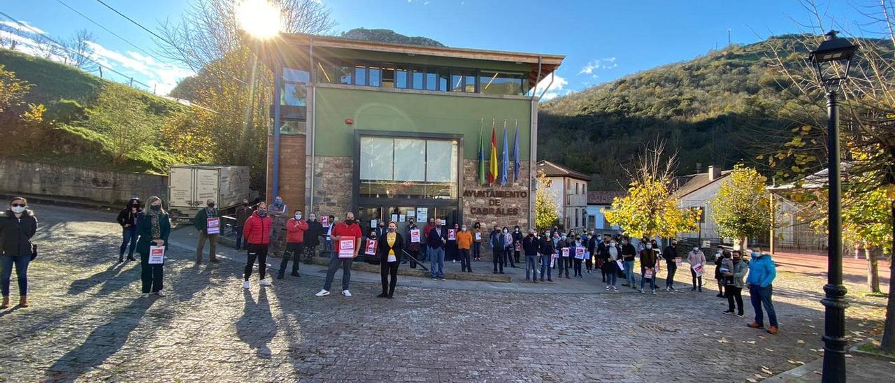 Apoyo a la hostelería en Carreña de Cabrales.