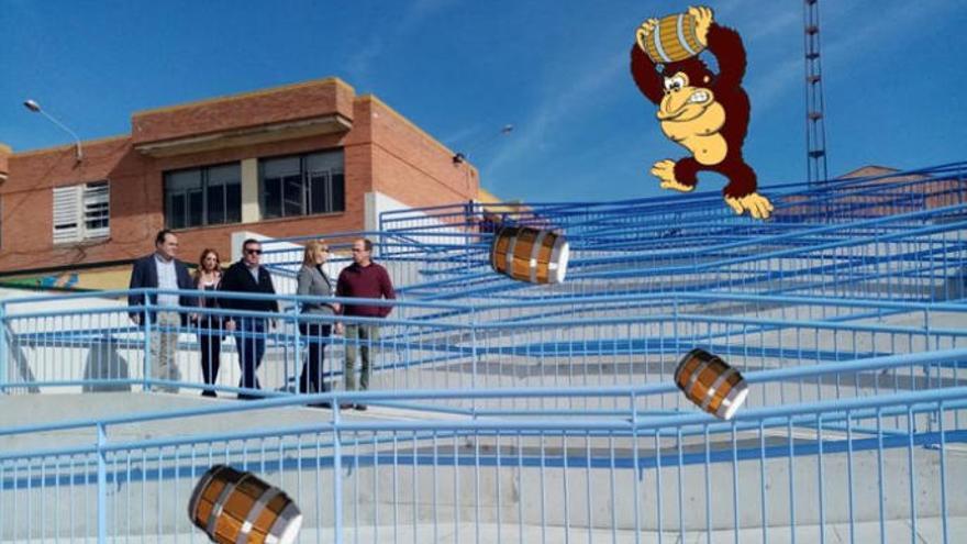 La genialidad del humor de las redes con la kilométrica rampa adaptada de un colegio