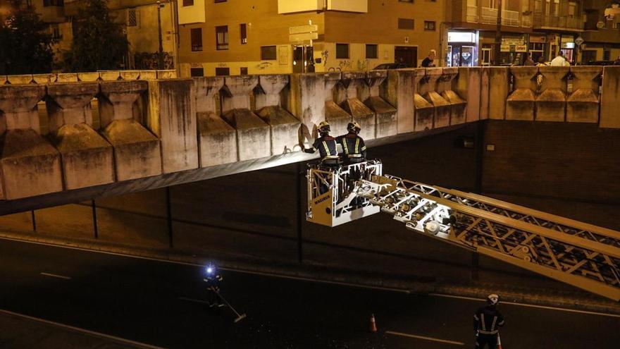 Zamora | Desprendimientos en el puente de Cardenal Cisneros obligan a cortar la carretera