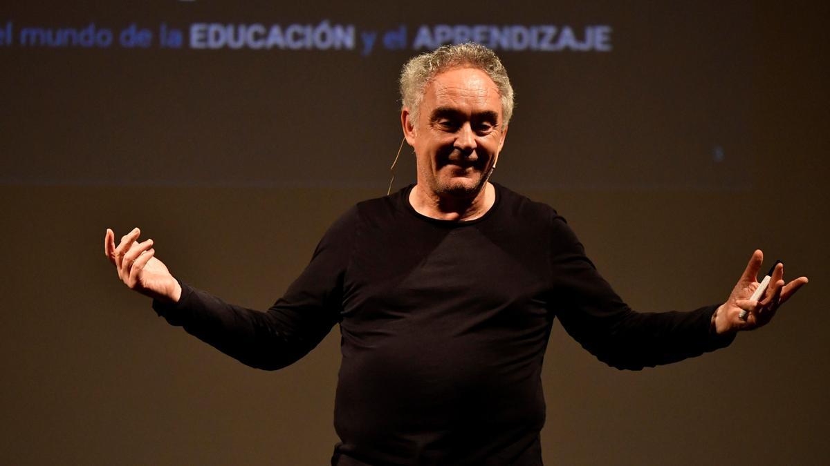 El chef, Ferran Adrià.