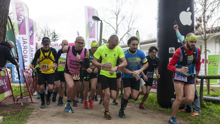 La modalidad larga del Zangarun llena Valorio de corredores