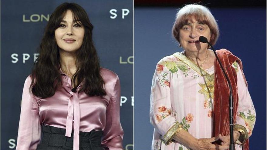 Monica Bellucci y Agnès Varda, Premios Donostia del Zinemaldia