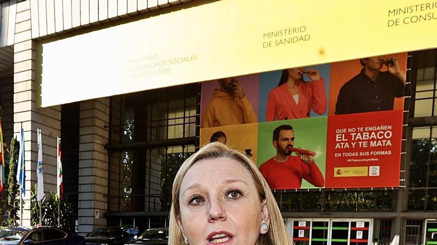 Isabel Blanco exige al Gobierno el 50% de la financiación de dependencia