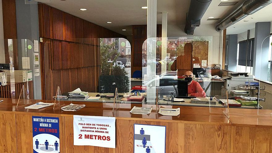 Cangas establece turnos de teletrabajo semanales en el Concello en previsión de posibles confinamientos