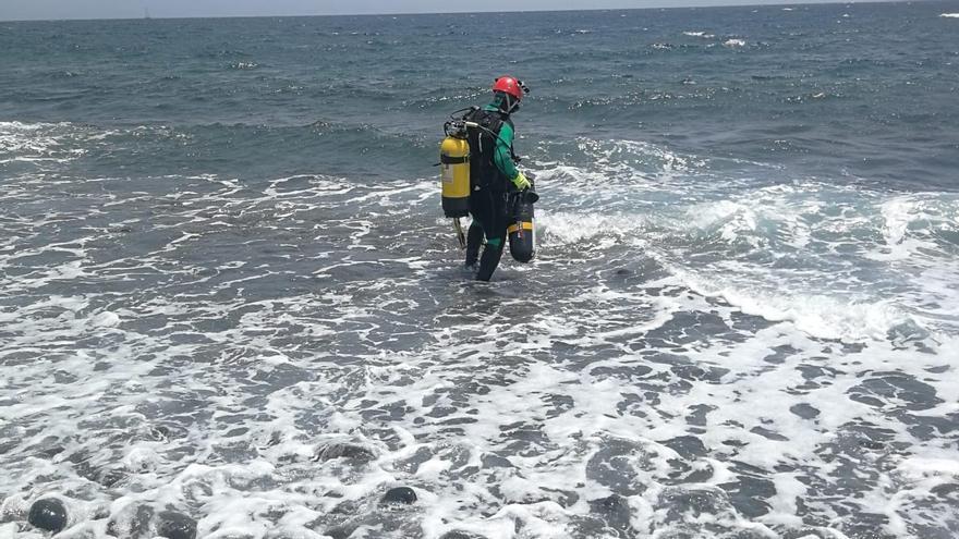 Encuentran el cuerpo sin vida del submarinista desaparecido en Fuerteventura