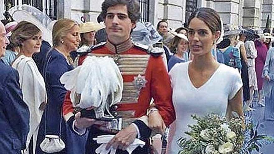 El padre de la futura duquesa  de Alba culpa a su contable