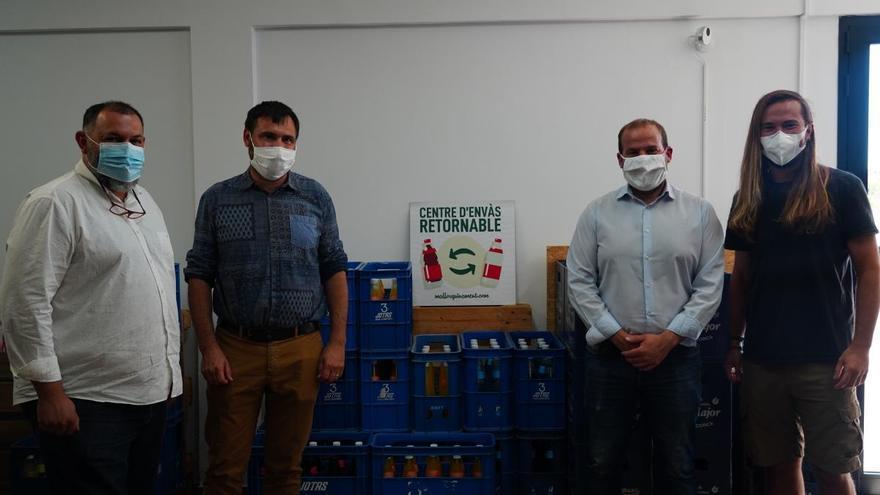 Crean un nuevo centro de envase retornable en Mallorca