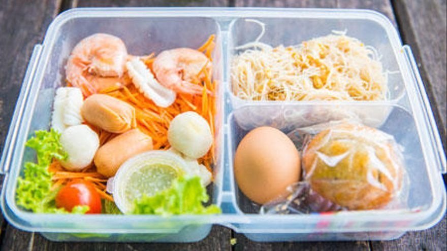 Los alimentos que nunca debes meter en el tupper