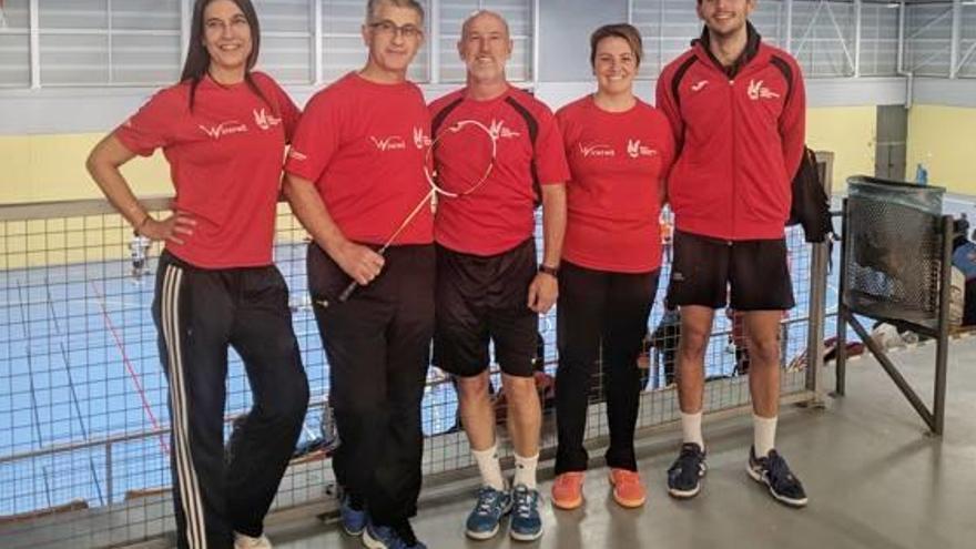 El Club Bádminton Xàtiva consigue dos bronces en el torneo TTR de València
