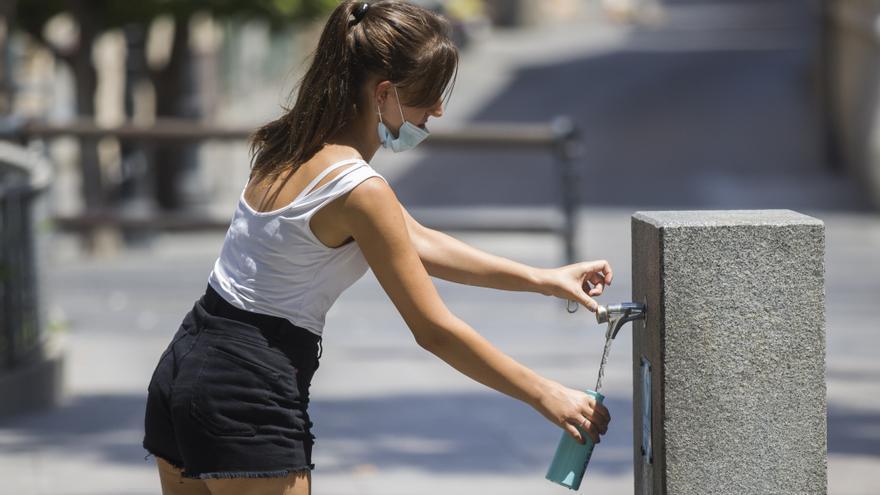 Alerta amarilla este viernes en Málaga por altas temperaturas