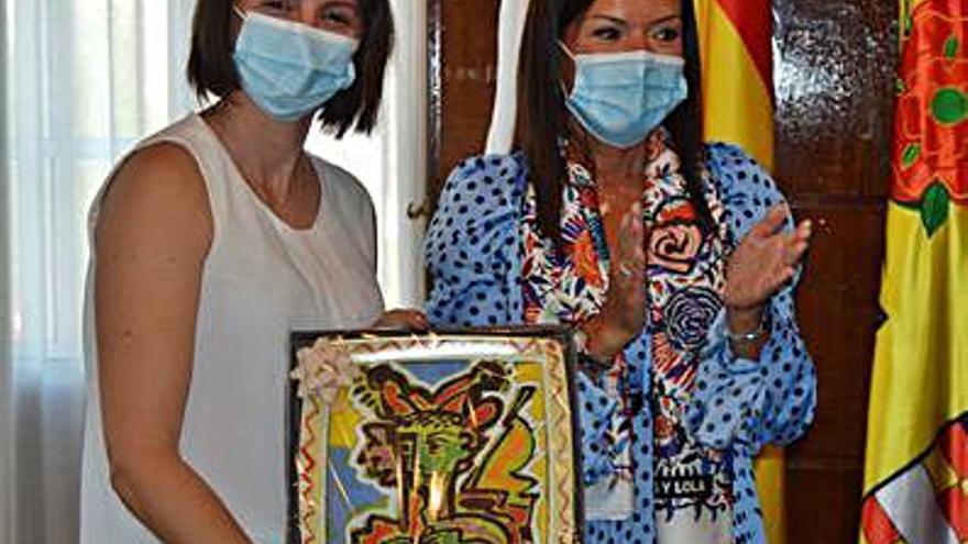 El Concello de Mos felicita a la florista Noelia Sías por su premio