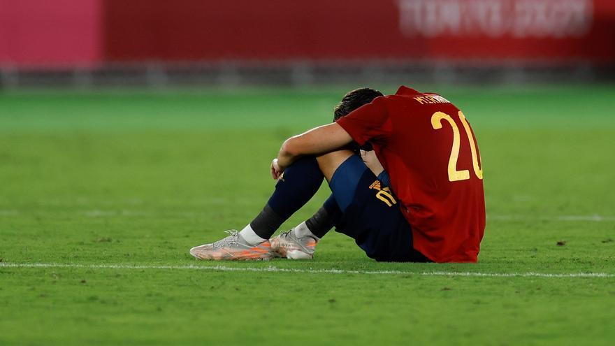 Brasil deixa Eric Garcia i Espanya sense l'or del futbol  (2-1)
