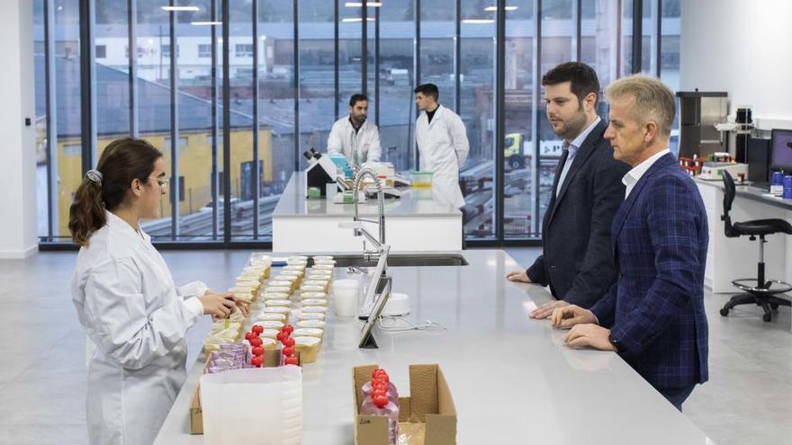 El laboratorio que ensaya el futuro de Vicky Foods