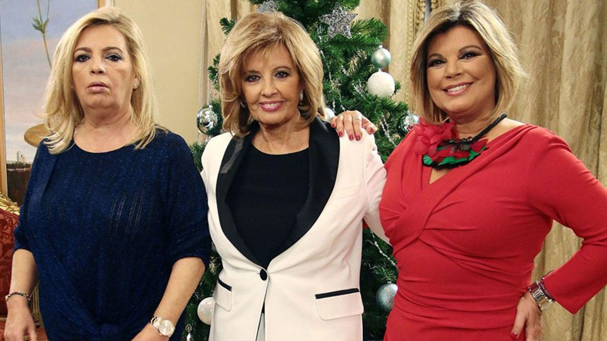Carmen Borrego, María Teresa Campos y Terelu.