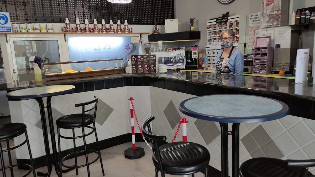 Uno de los establecimientos afectados por el cierre interior, en Benavente. / E. P.