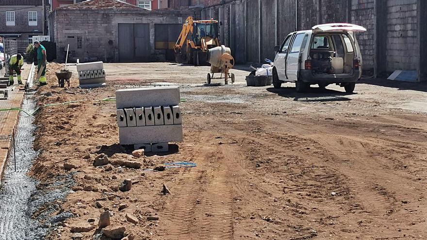 """Contigo Silleda tilda de """"revalorización"""" las obras del parking en Progreso"""