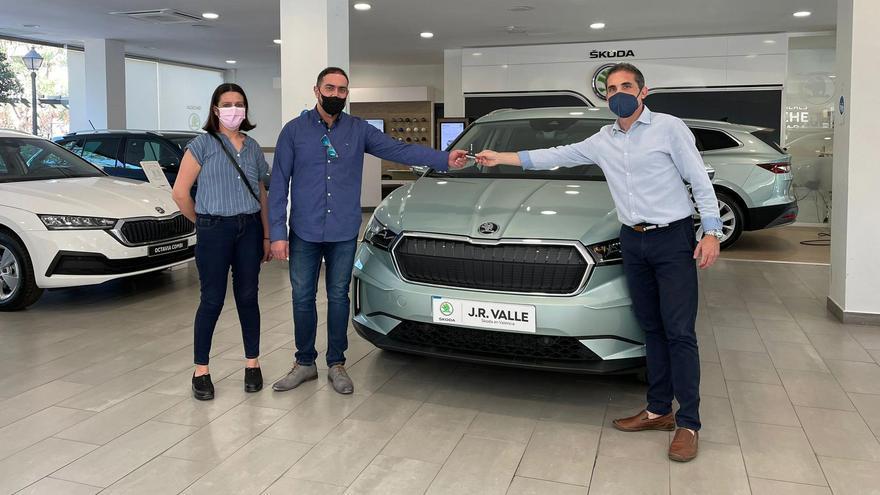 El nuevo Skoda Enyaq iV llega a València de la mano de J.R. Valle