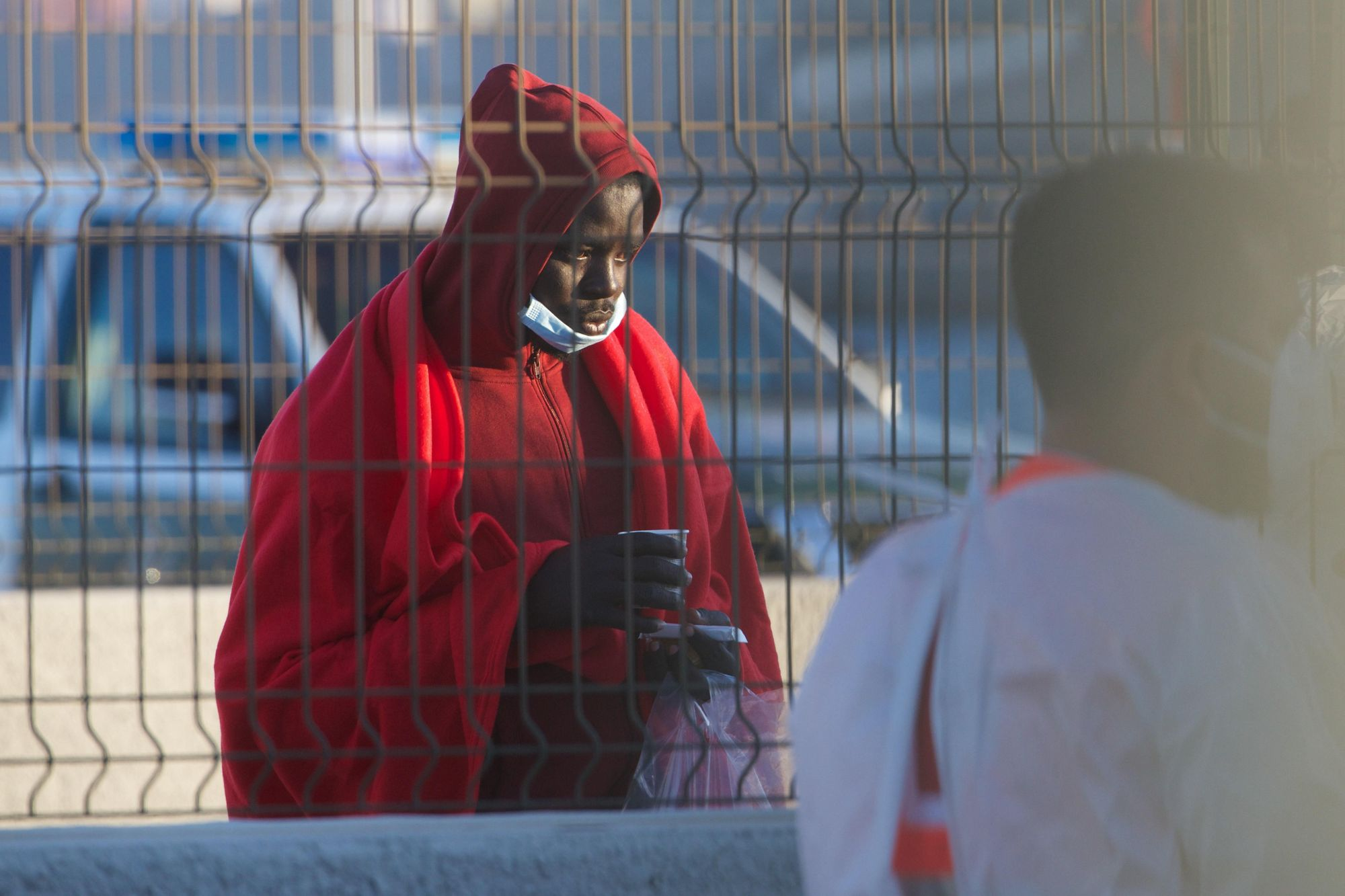 Llegada de migrantes a Fuerteventura (01/06/21))