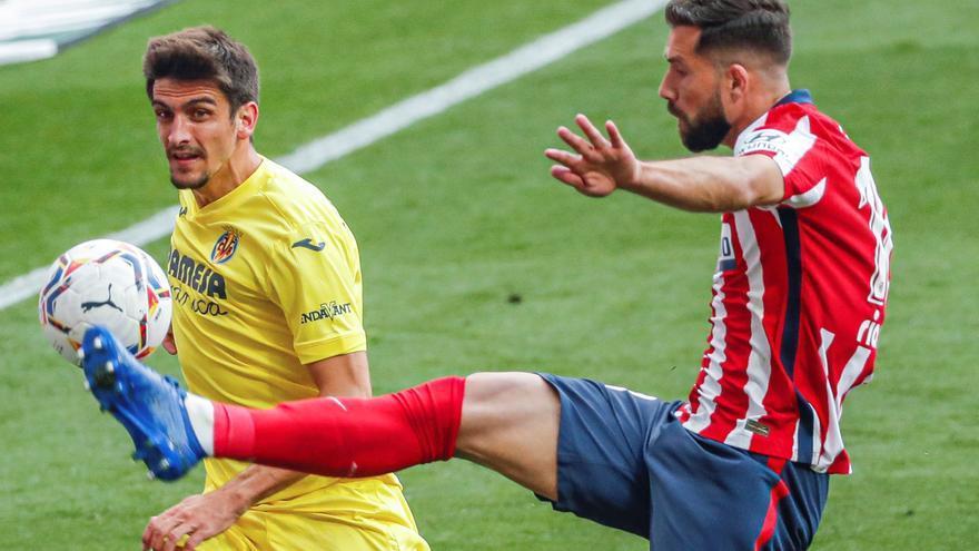 Atlético y Villarreal se enredan y empatan a cero