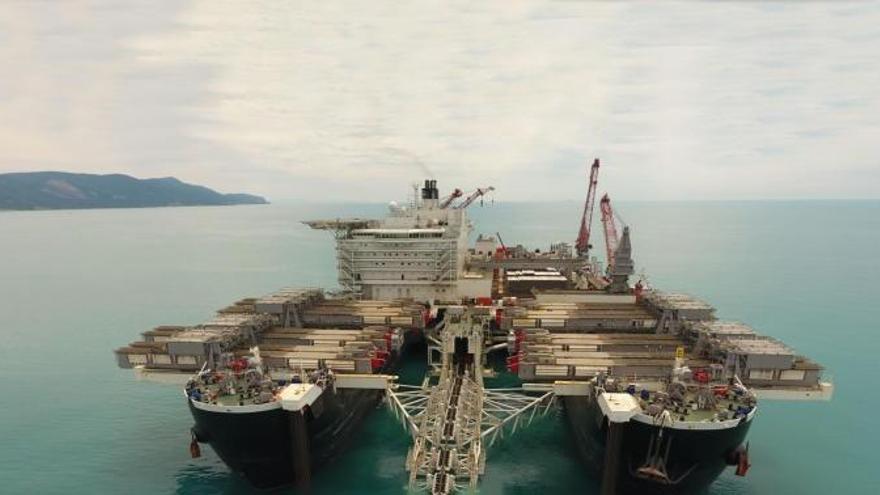 Resultan heridos tres trabajadores de Marín en un gasoducto en el mar Negro