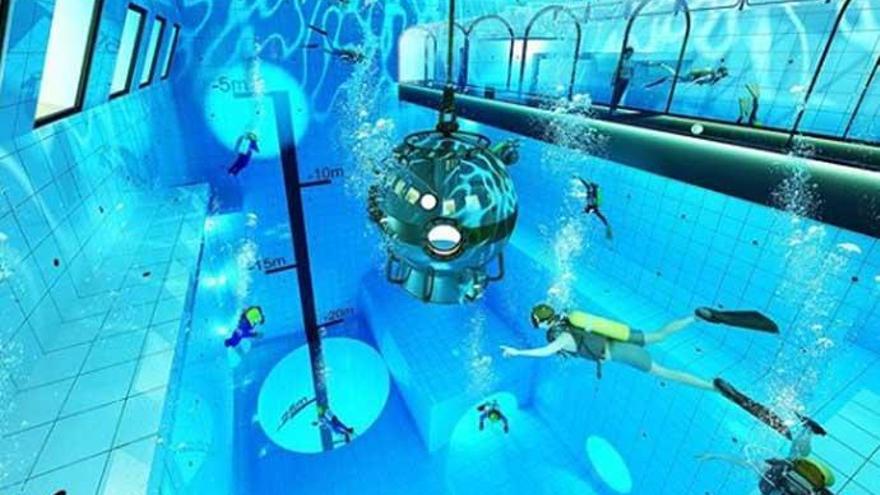 Así es Deep Spot, la piscina más profunda del mundo