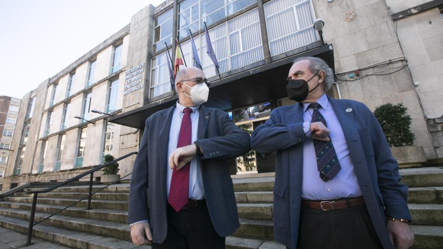 Así fue el relevo en la dirección de la Escuela de Ingenieros de Minas de Oviedo