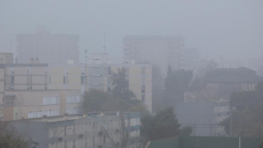 El tiempo en Valencia hoy: más niebla y empieza el cambio para el fin de semana
