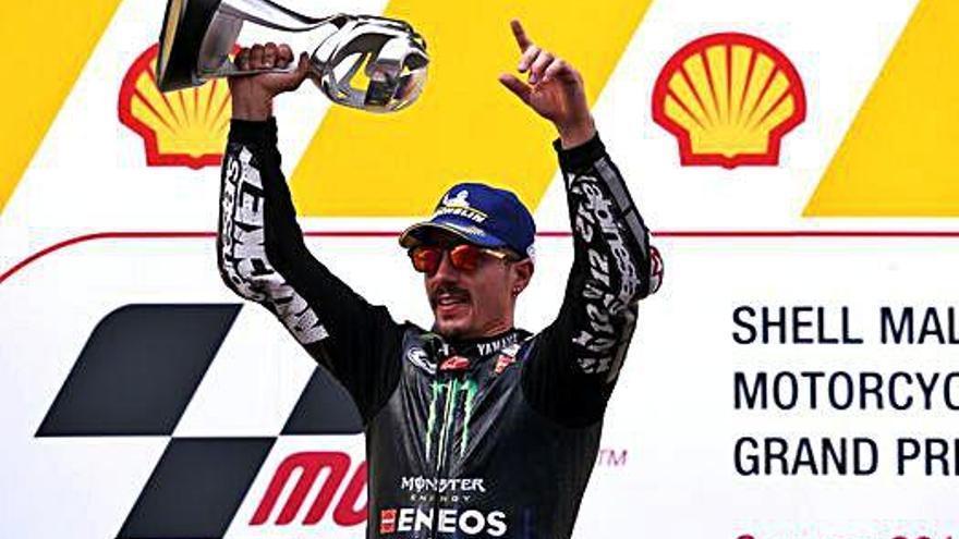 Viñales aguanta la remuntada de Márquez i guanya en  MotoGP