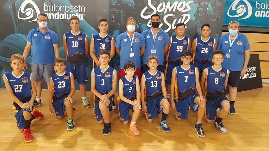 El Ciudad de Córdoba logra la plata en el campeonato andaluz mini de baloncesto