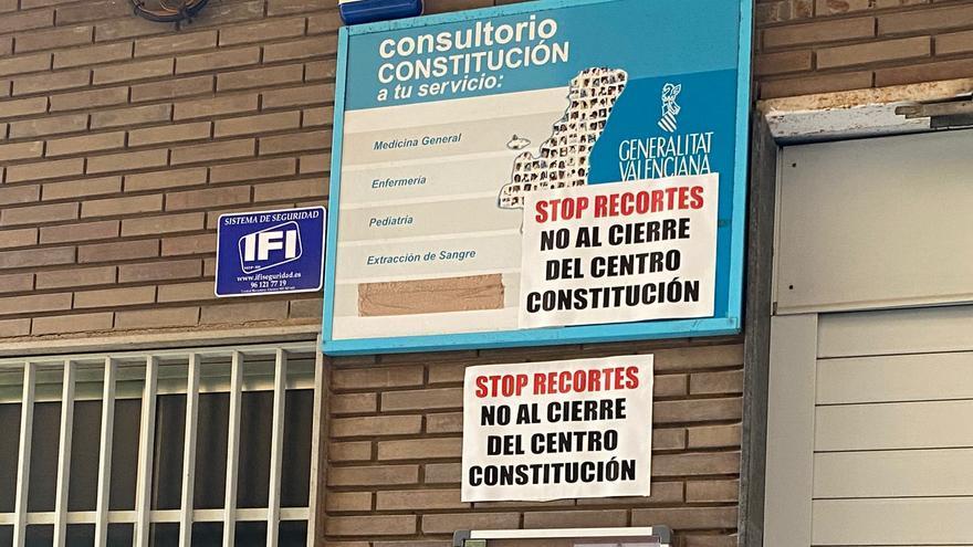 El PP afea que el consultorio Constitución de Castelló no esté abierto