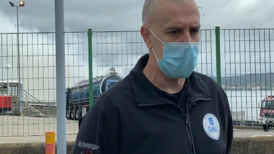Controlado el incendio de Jealsa en Boiro: los efectivos salvan los depósitos de amoníaco y evitan la catástrofe
