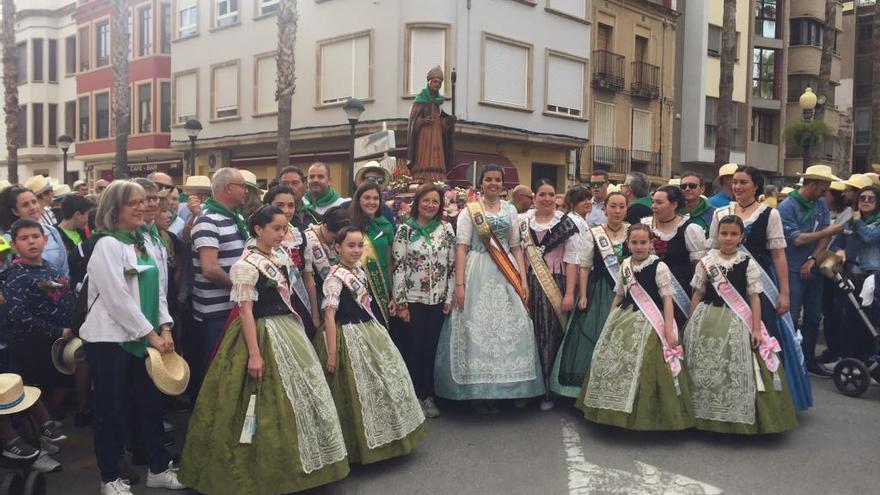 15.000 personas participan en la romería de Sant Gregori