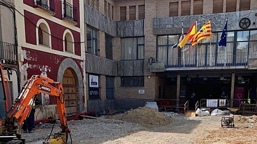 Comienza la remodelación de la plaza España