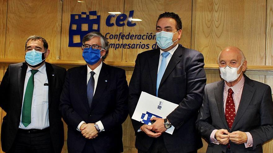 Vieites, único candidato a presidir la CEG, hace un guiño a la unidad de las patronales de A Coruña y Ourense
