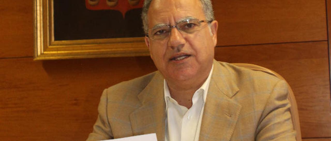 El presidente de La Gomera, Casimiro Curbelo.