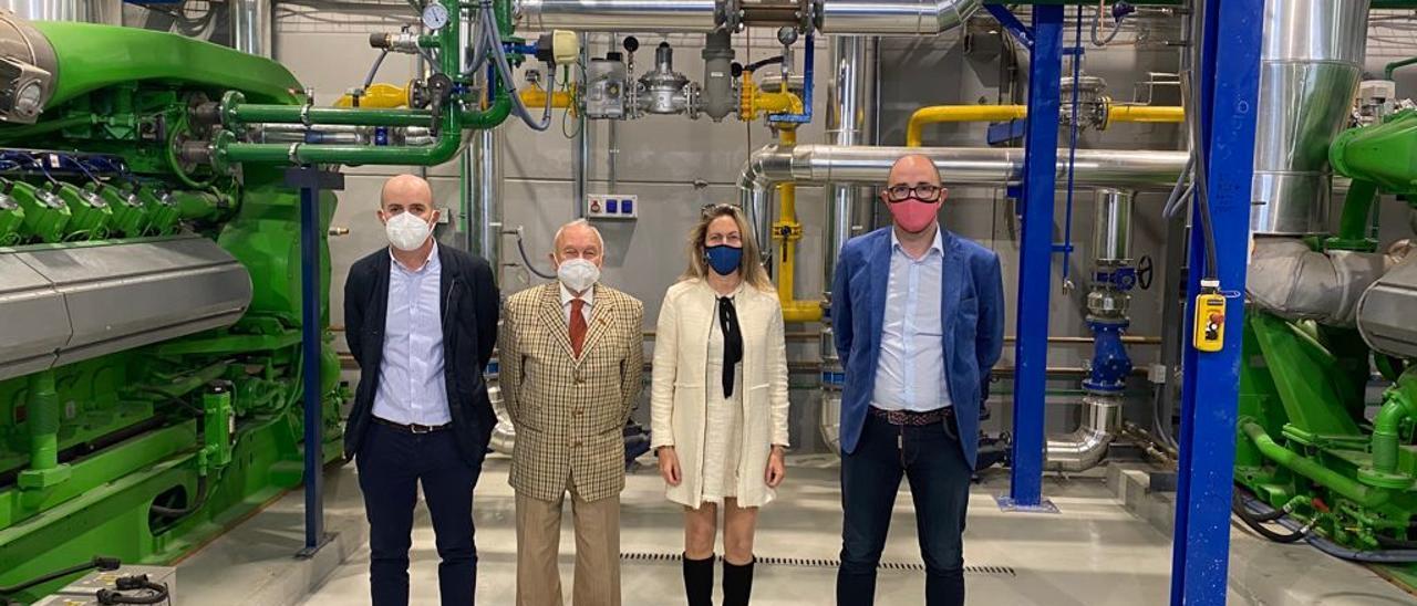 Pep Malagrava visita la planta de alta eficiencia energética de grupo Sampol en Parc Bit