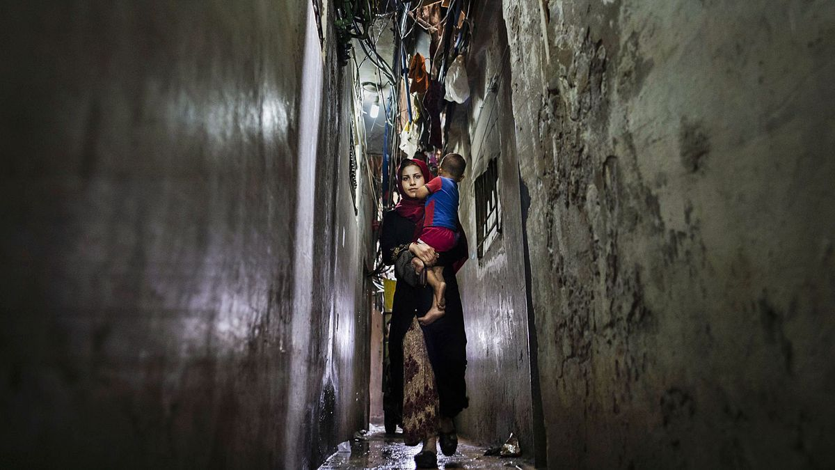 La eterna espera del pueblo palestino en  las ruinas del Líbano