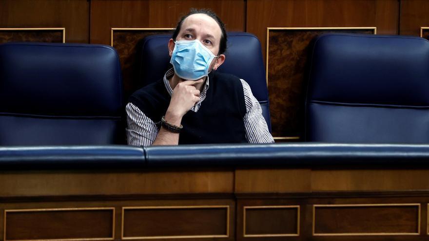 El PSOE apoya la reprobación de Pablo Iglesias en el pleno de Zaragoza
