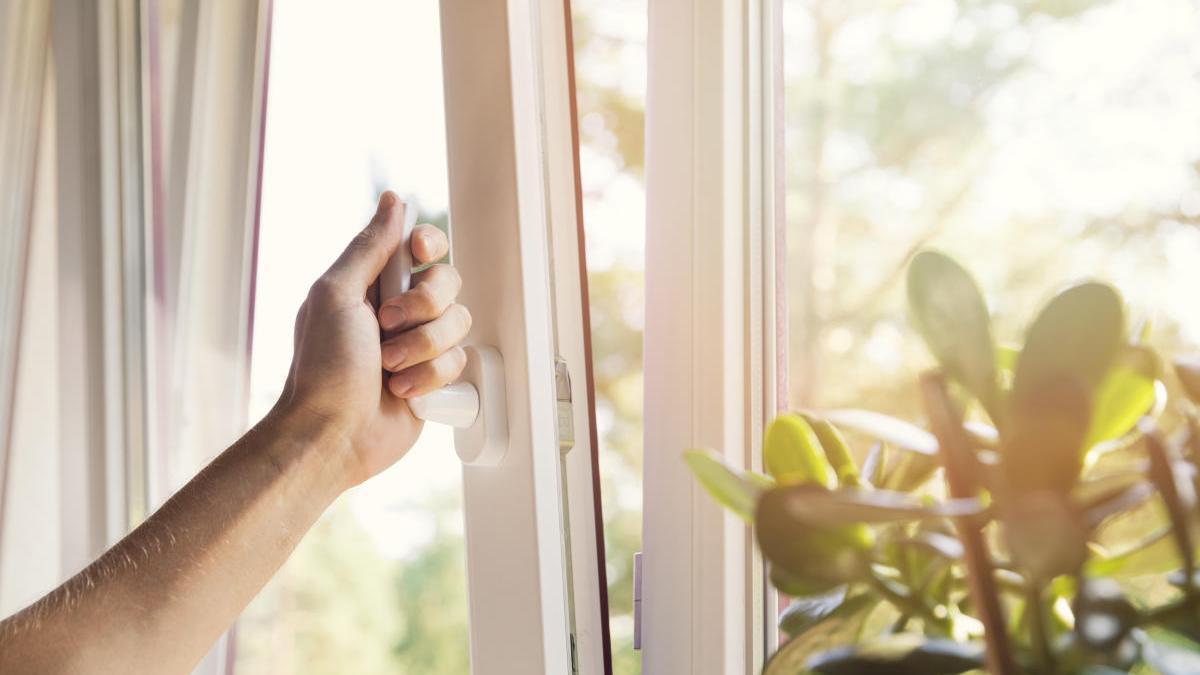 Ventilar la casa es vital para la salud.