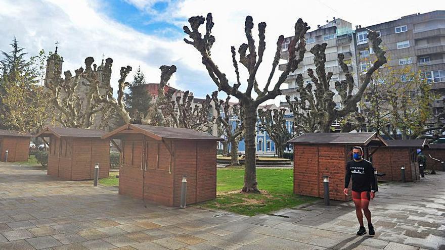 La plaza de España también tendrá Mercado de Nadal
