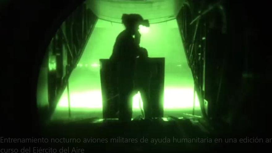 Curso entrenamiento nocturno Ejército del Aire